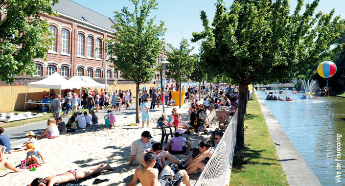 Tourcoing plage lille lambersart for Piscine tourcoing